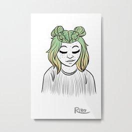 Hairstyle #11 Metal Print