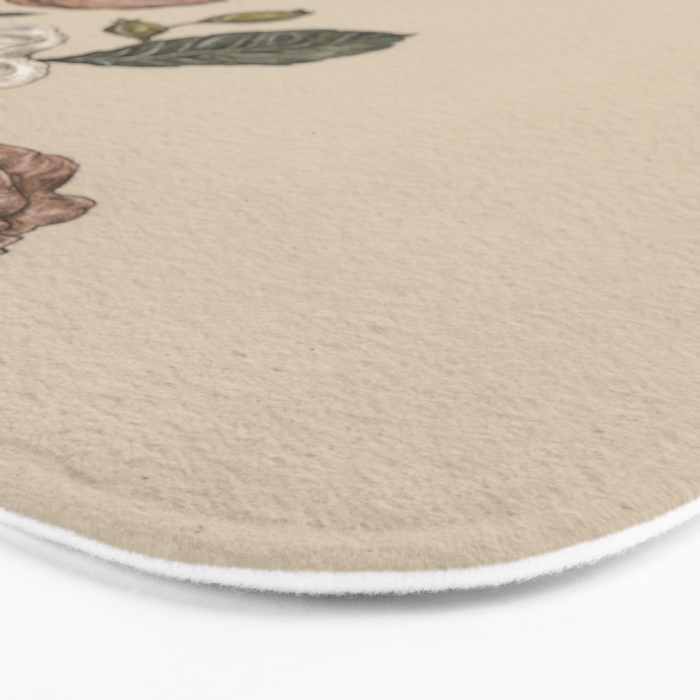 Floral Laurel Bath Mat