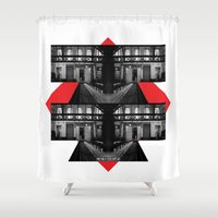 math Shower Curtains featuring MATH & IMAGERY by Marco Cherfêm
