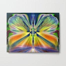 Butterfly Aurora Metal Print