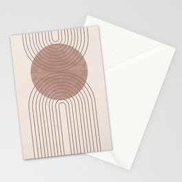 Abstract Modern Poster Arch  Stationery Cards