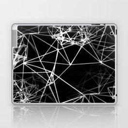 Geometric himmeli ornaments as minimal negative pattern Laptop & iPad Skin