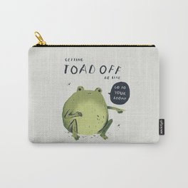Toad off Carry-All Pouch