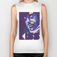 prince Biker Tanks featuring Prince by Liam Brazier
