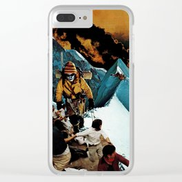 Not Looking Back Clear iPhone Case