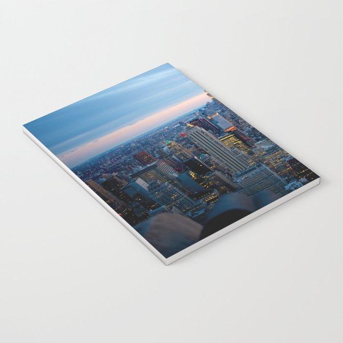 New York City Dusk Notebook
