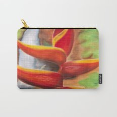 Heliconia Carry-All Pouch
