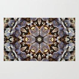 Mushroom Mandala 2 Rug