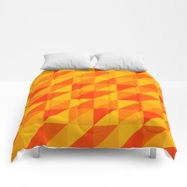 Triangles II Comforters