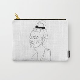 B&W Sketch Carry-All Pouch
