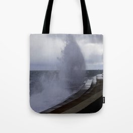 A Gale to Blow Out the Year #3 (Chicago Waves Collection) Tote Bag