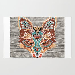 Zorro! (Bohemian Fox) Rug