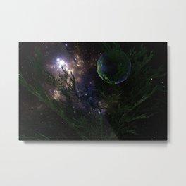 ZoooooZ Space Night Metal Print