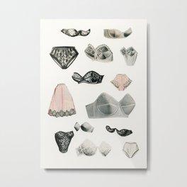 Lingerie Metal Print