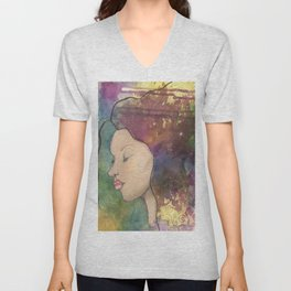 Contemplation Unisex V-Neck