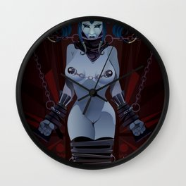 DEVIOUSLY FETTERED Wall Clock