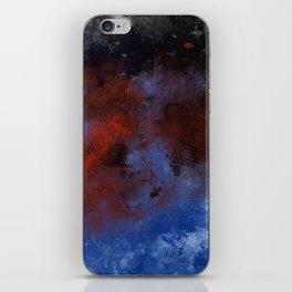 Turmoil - Acrylic Abstract Painting iPhone Skin