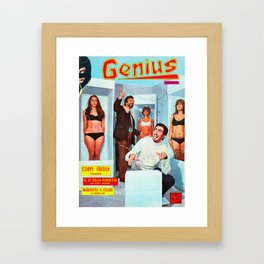 Genius Framed Art Print