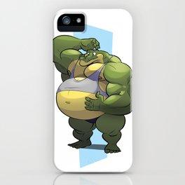 Beach Bod Croc iPhone Case