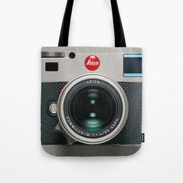 Leica Camera M9 Silver Tote Bag