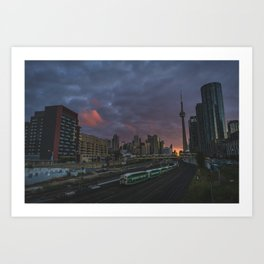 Coming and going  |  Toronto, Canada Art Print