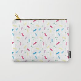 Rainbow Sprinkle Pattern Carry-All Pouch