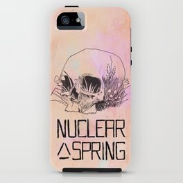 Nuclear Spring iPhone Case