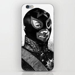 Wrestling mask 2 iPhone Skin