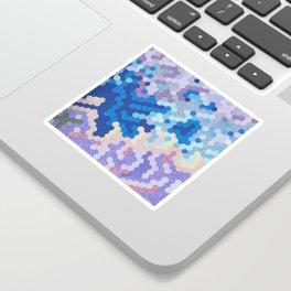 Nebula Hex Sticker