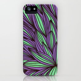 Fabulous flowers iPhone Case