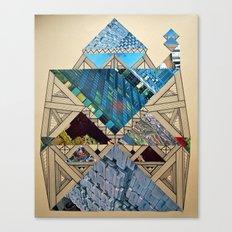 Paper House 1 Canvas Print