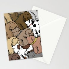 Dog Tessellation Stationery Cards