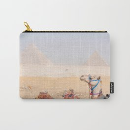 Camel at Pyramids of Giza Egypt Cairo Carry-All Pouch