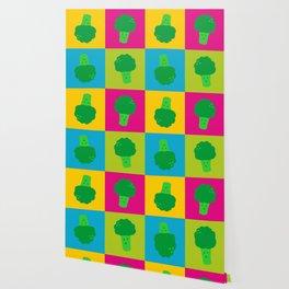 Popart Broccoli Wallpaper