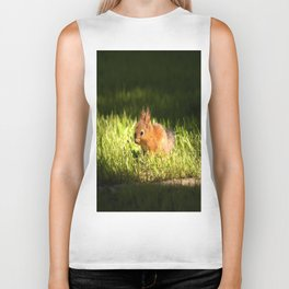 Cute Squirrel Cub #decor #society6 Biker Tank