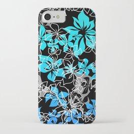 Dancing Hibiscus Hawaiian Aloha Shirt Print iPhone Case