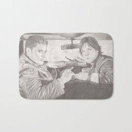 The Winchester Brothers Bath Mat