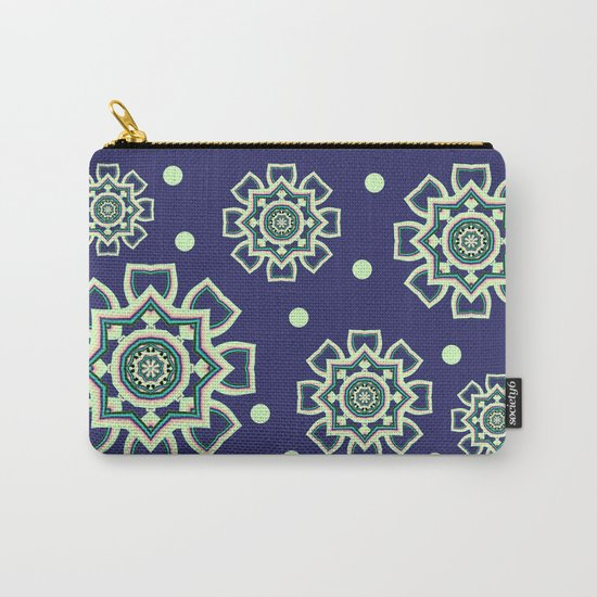 Celtic Snowflake Carry-All Pouch