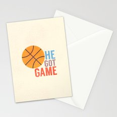 He Got Game Stationery Cards