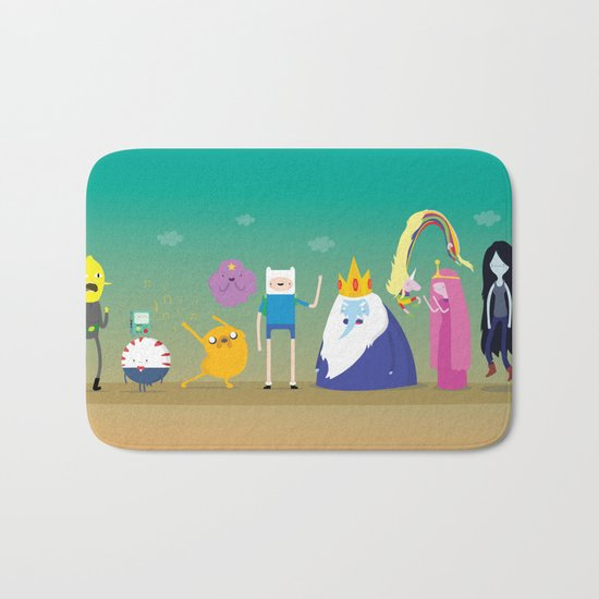 Adventure time characters Bath Mat