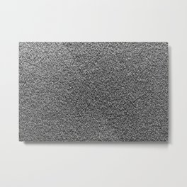 Gray Fleecy Material Texture Metal Print