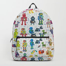Robots in Space Backpack