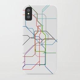 London tube iPhone Case