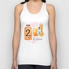 An Old Fashioned Cocktail Unisex Tank Top