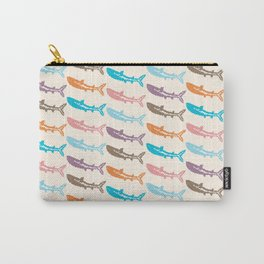 Pastel Marine Pattern 14 Carry-All Pouch