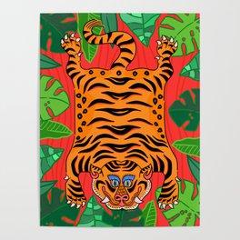 Tibetan Jungle Tiger Poster