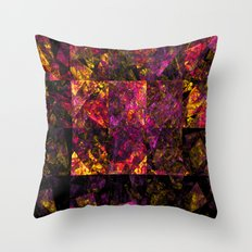 Stained windows Throw Pillow