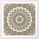 Beige brown kaleidoscope . by fuzzyfox85
