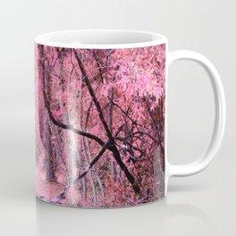 Pink Fantasy Forest Coffee Mug