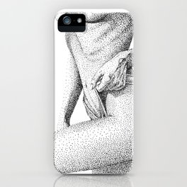 LOUISE. iPhone Case